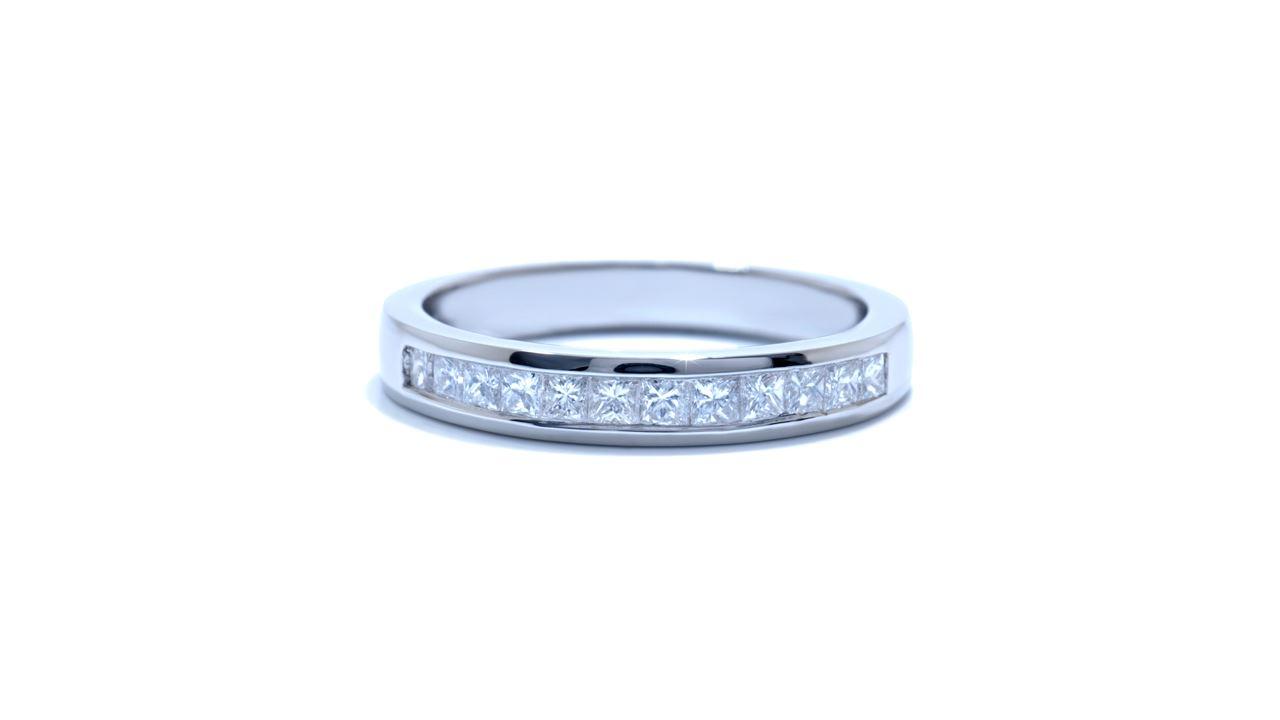 33217 - Princess Cut Diamond Wedding Band at Ascot Diamonds