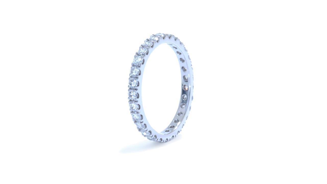 j7280 -  0.84 ct. French-Set Diamond Eternity Band  at Ascot Diamonds