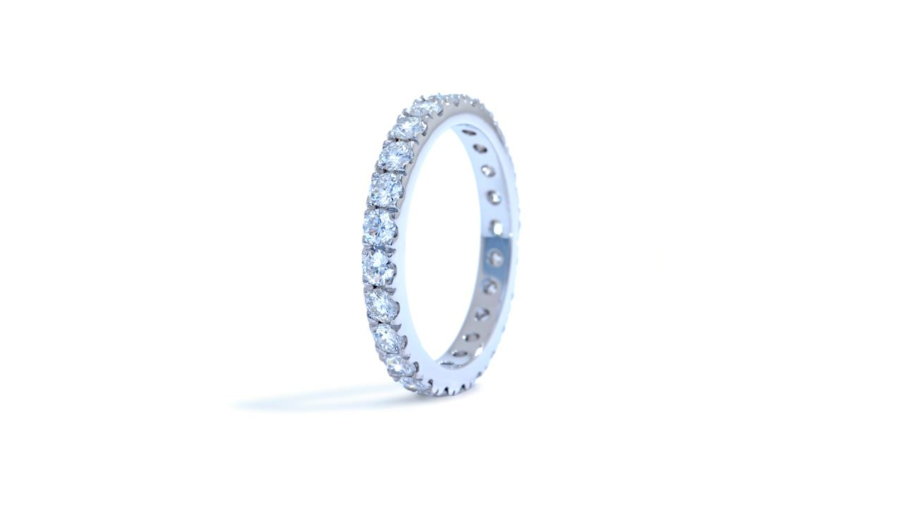 j8243 - Diamond Eternity Wedding Band 1.22 ct. tw. (18k white gold) at Ascot Diamonds