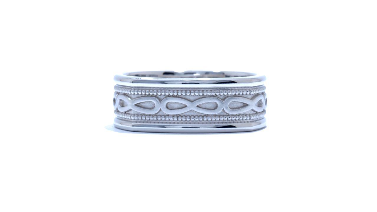 j8321 - Men's Infinity Symbol Wedding Ring at Ascot Diamonds