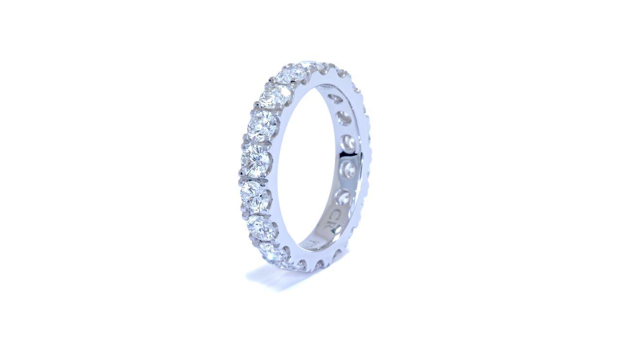j8383 - Eternity Diamond Wedding Ring 2.45 ct. tw. (in platinum) at Ascot Diamonds