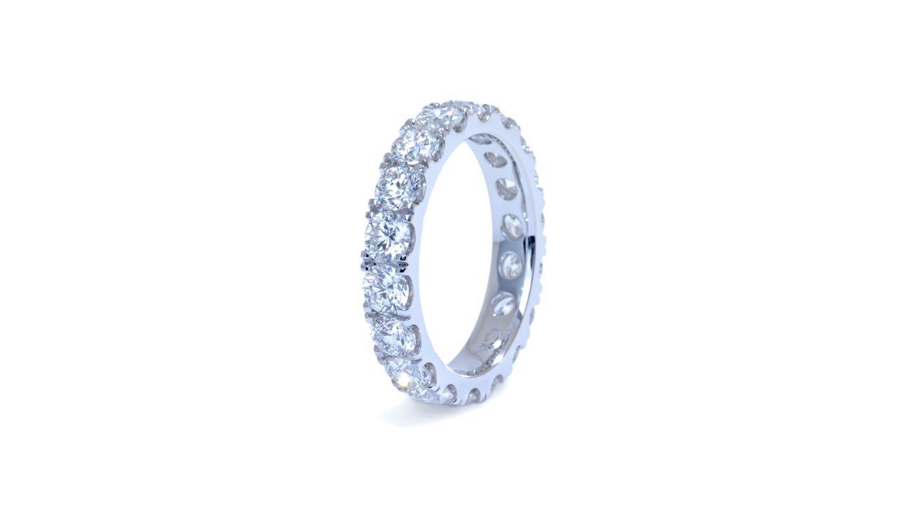 j8404 - Diamond Eternity Wedding Band 3.02 ct. tw. (in 18k white gold) at Ascot Diamonds