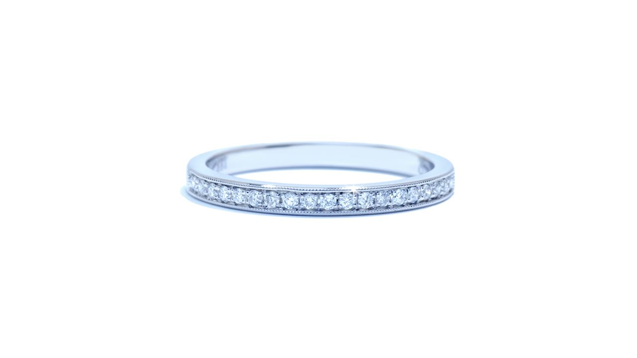 j8612 - Bead-set Round Diamond Wedding Band 0.13 ct. at Ascot Diamonds