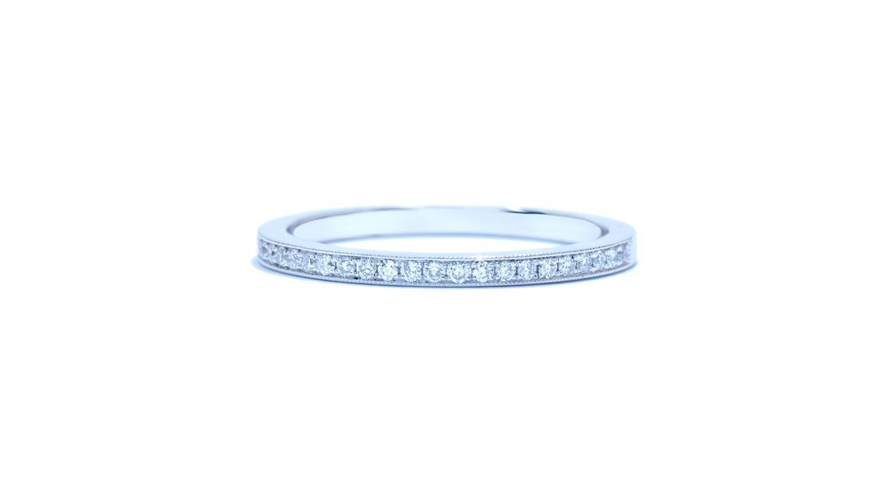 j8763 - Ladies Bead-set Round Diamond Wedding Band at Ascot Diamonds