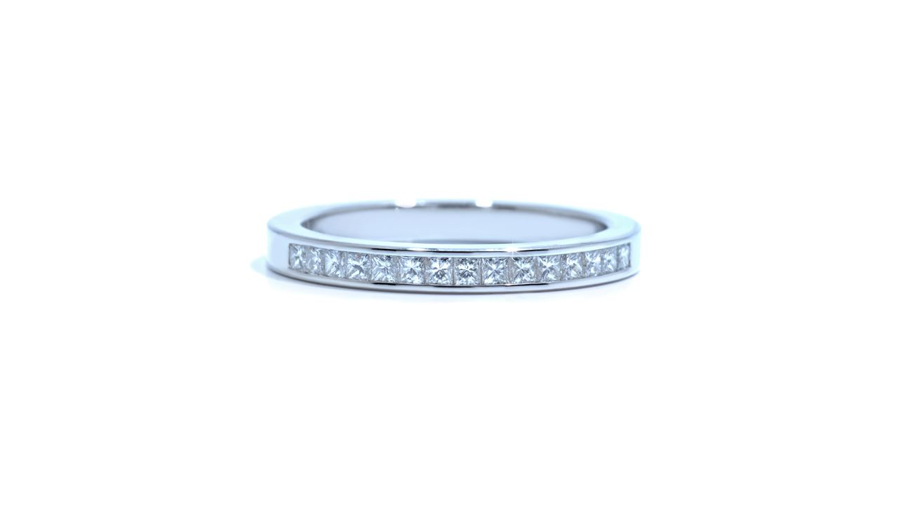 j8991 - 0.33 ct. Channel-Set Princess Diamond Band at Ascot Diamonds