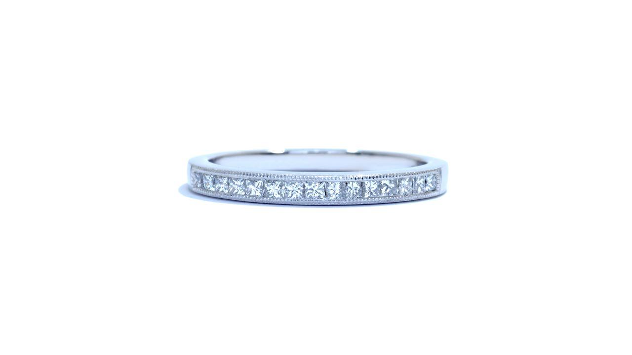 j9008 - Channel-Set Princess Diamond Band 0.31 ct.  at Ascot Diamonds