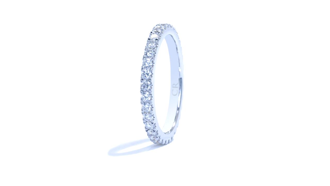ja1267 - Prong-Set Diamond Eternity Wedding Band at Ascot Diamonds