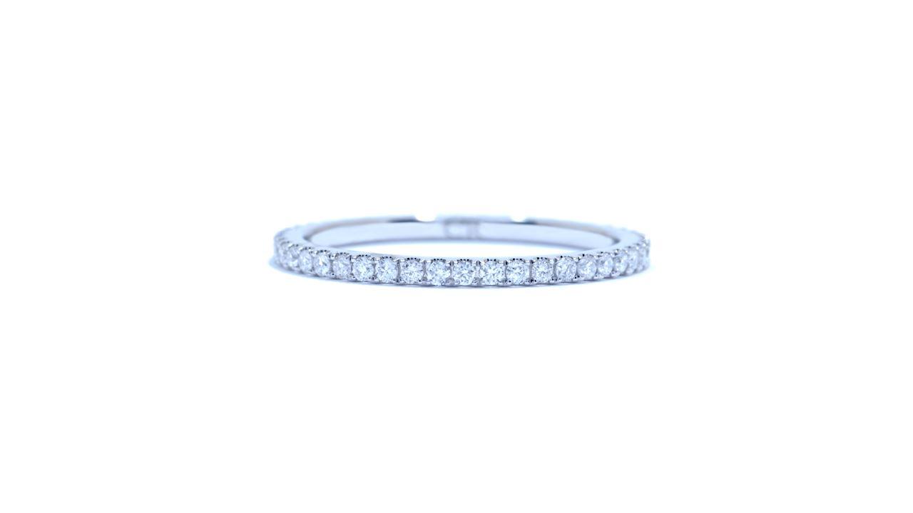 ja1539 -  French-Set Diamond Eternity Band 0.34 ct.  at Ascot Diamonds
