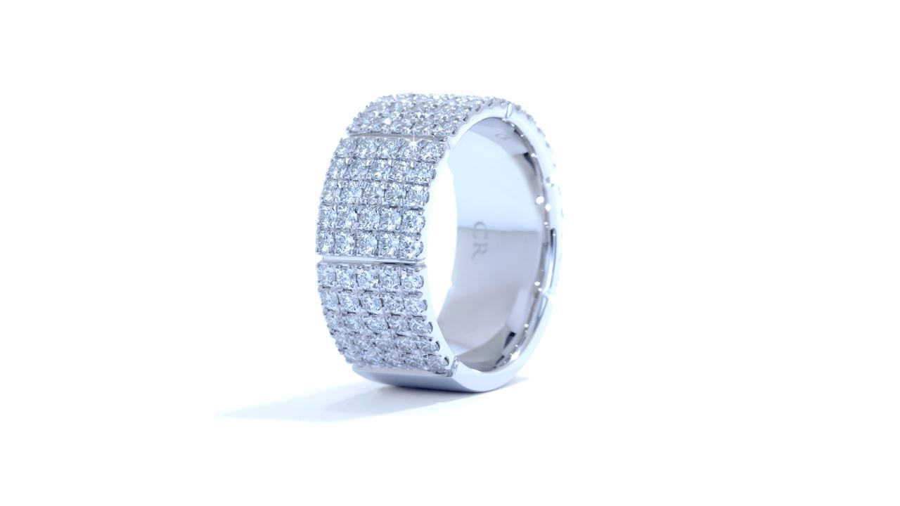 ja2309 - Modern Diamond Anniversary Ring 1.92 ct. tw. (in 18k white gold) at Ascot Diamonds