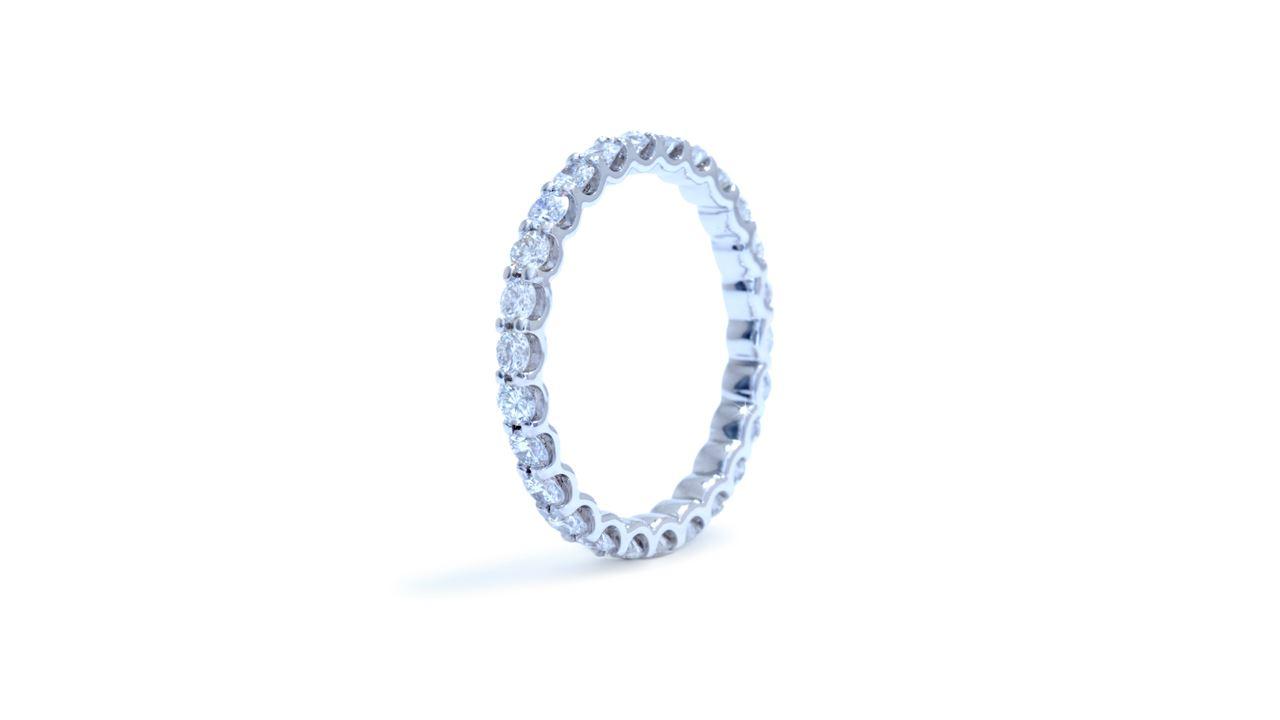 ja3201 - 1.02 ct. Shared-Prong Diamond Eternity Band at Ascot Diamonds
