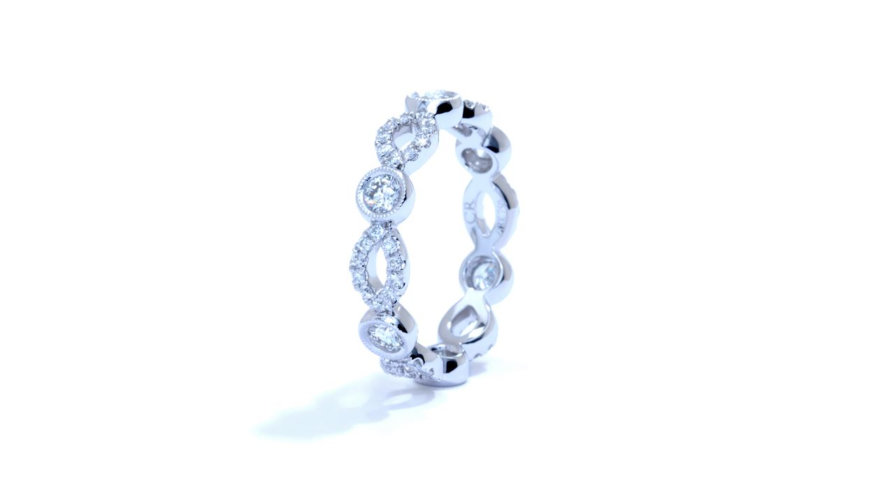 ja3449 - Stacking Diamond Ring 0.85 ct. tw. (in 18k white gold) at Ascot Diamonds