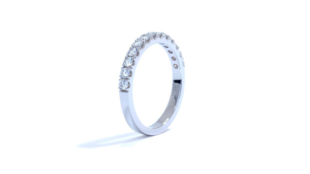 ja3544 -  French-Set Diamond Wedding Band 0.50 ct. tw. (in 18k white gold) at Ascot Diamonds