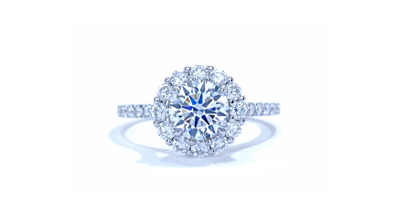 ja3775_d6200 - 1.2 ct. Round Halo Diamond Ring at Ascot Diamonds