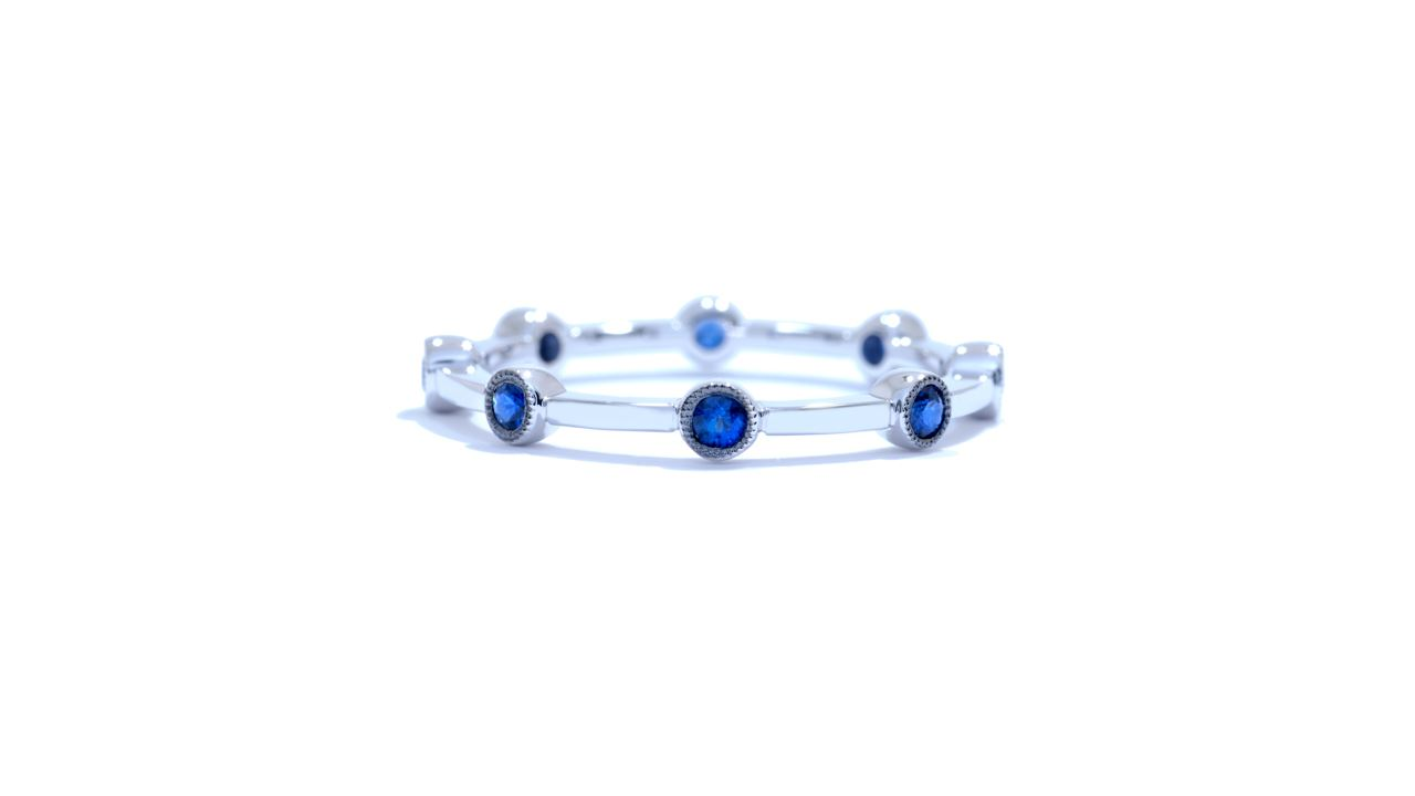 ja3846 - Sapphire Stacking Band 0.30 ct. tw. (in 18k white gold) at Ascot Diamonds