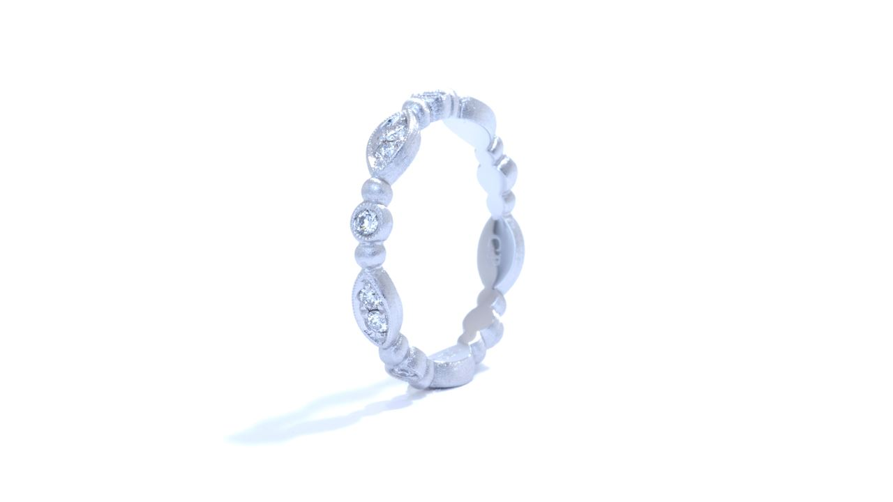 ja3856 - Delicate Diamond Stackable Band 0.30 ct. at Ascot Diamonds