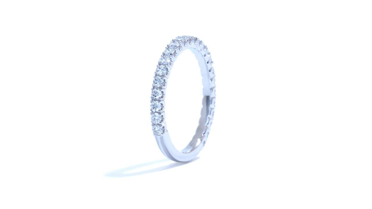 ja4210 -  French-Set Diamond Wedding Band 0.54 ct. tw. (in 18k white gold) at Ascot Diamonds