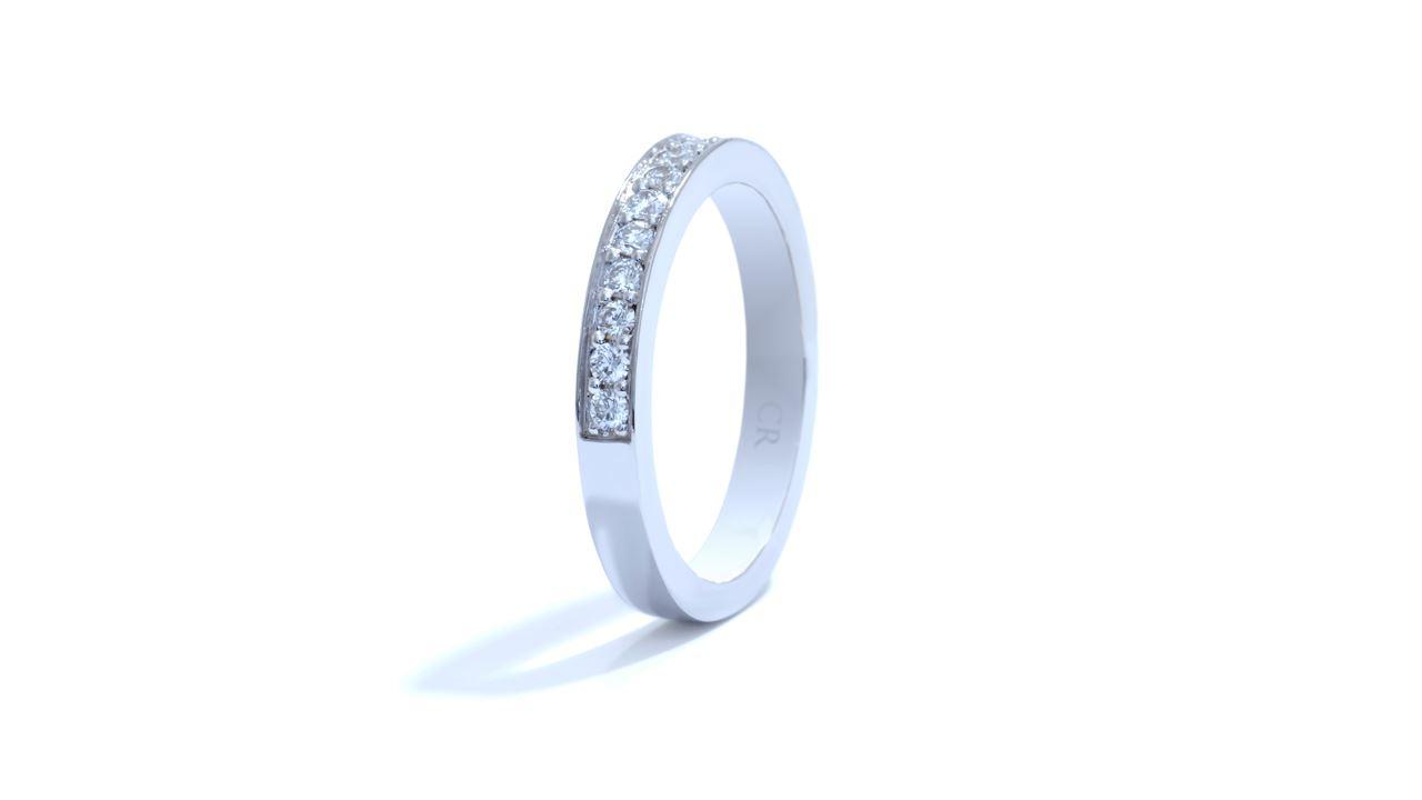ja4506 - 0.36ct  Micropave Diamond Wedding Band at Ascot Diamonds