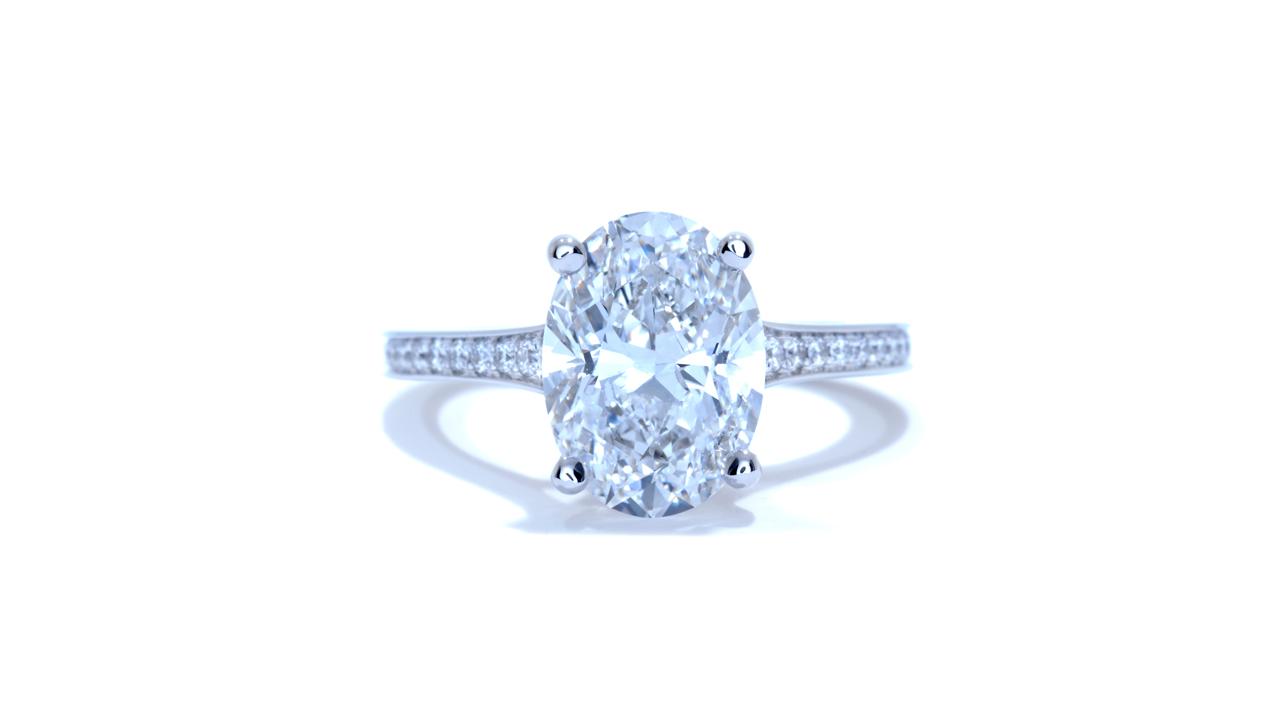 ja4640_d6301 - Oval Diamond Engagement Ring at Ascot Diamonds