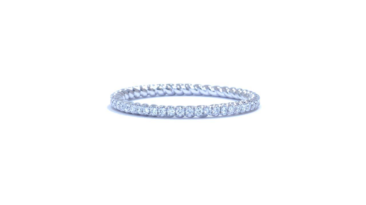 ja4953 - Twisted Diamond Eternity Wedding Ring at Ascot Diamonds