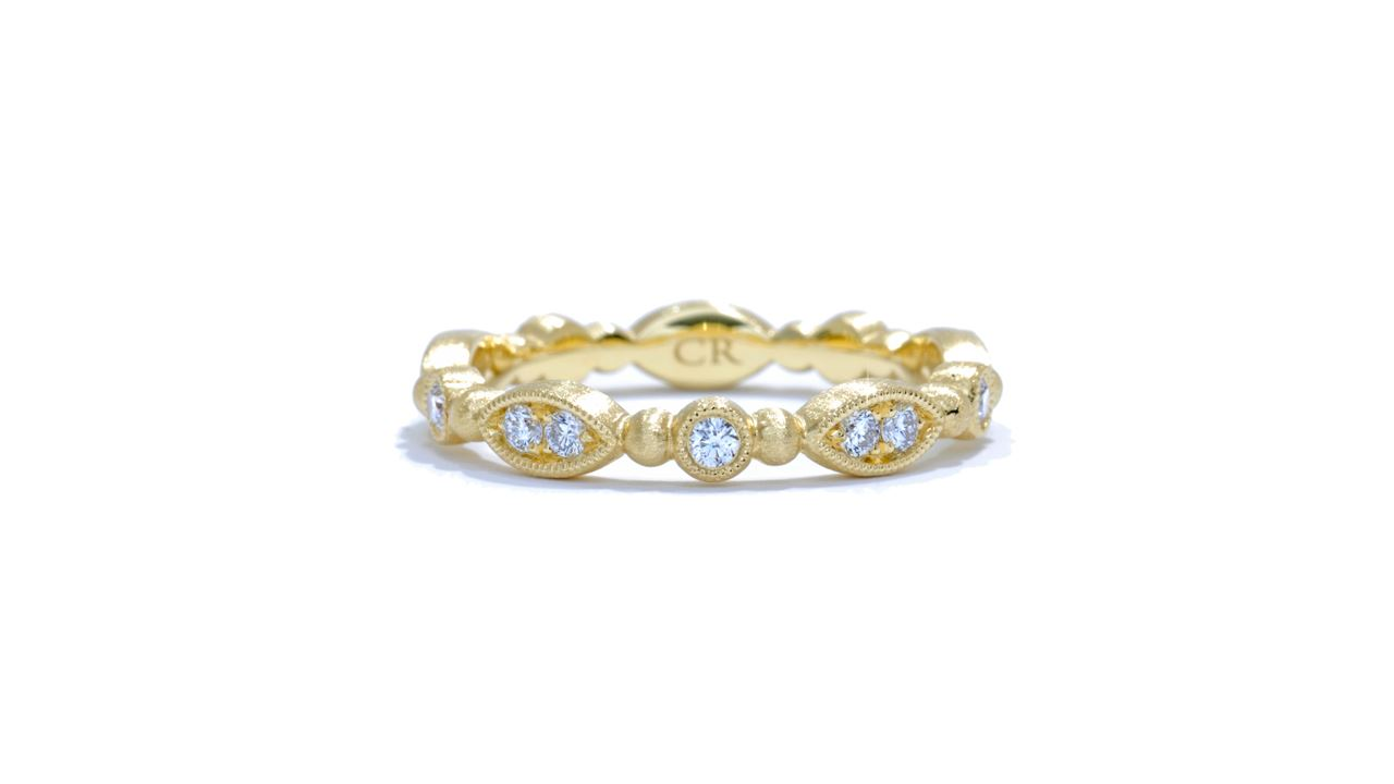 ja5083 - Delicate Diamond Stackable Band 0.30 ctw.