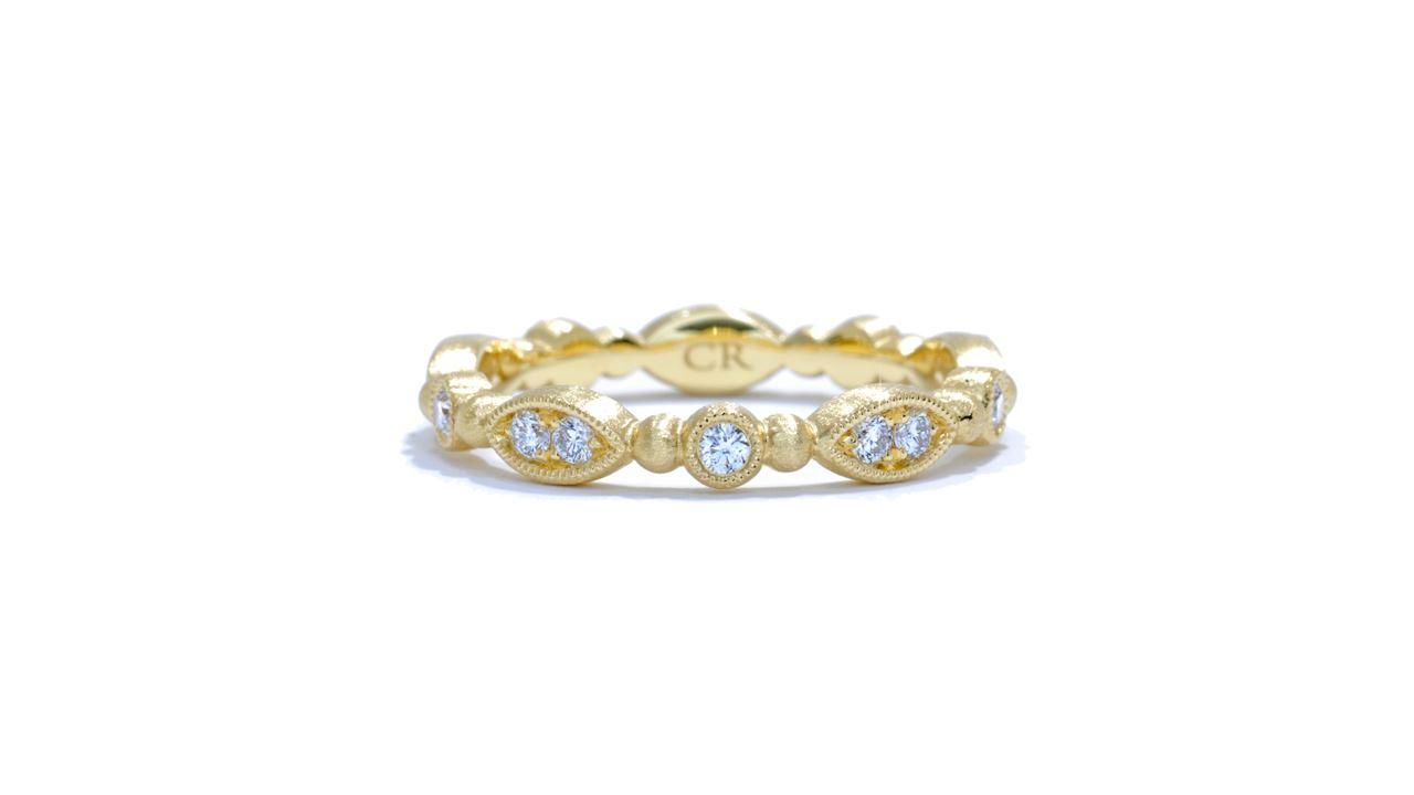 ja5083 - Delicate Diamond Stackable Band 0.30 ctw.  at Ascot Diamonds