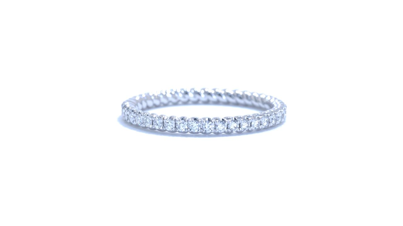 ja5631 - Rope Style Diamond Eternity Wedding Ring at Ascot Diamonds
