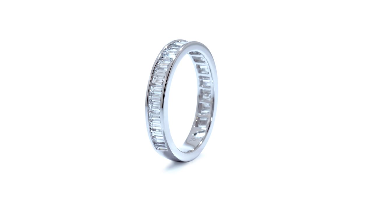 ja5668 - Baguette Diamond Wedding Ring 1.18 ct. tw. (in platinum)  at Ascot Diamonds