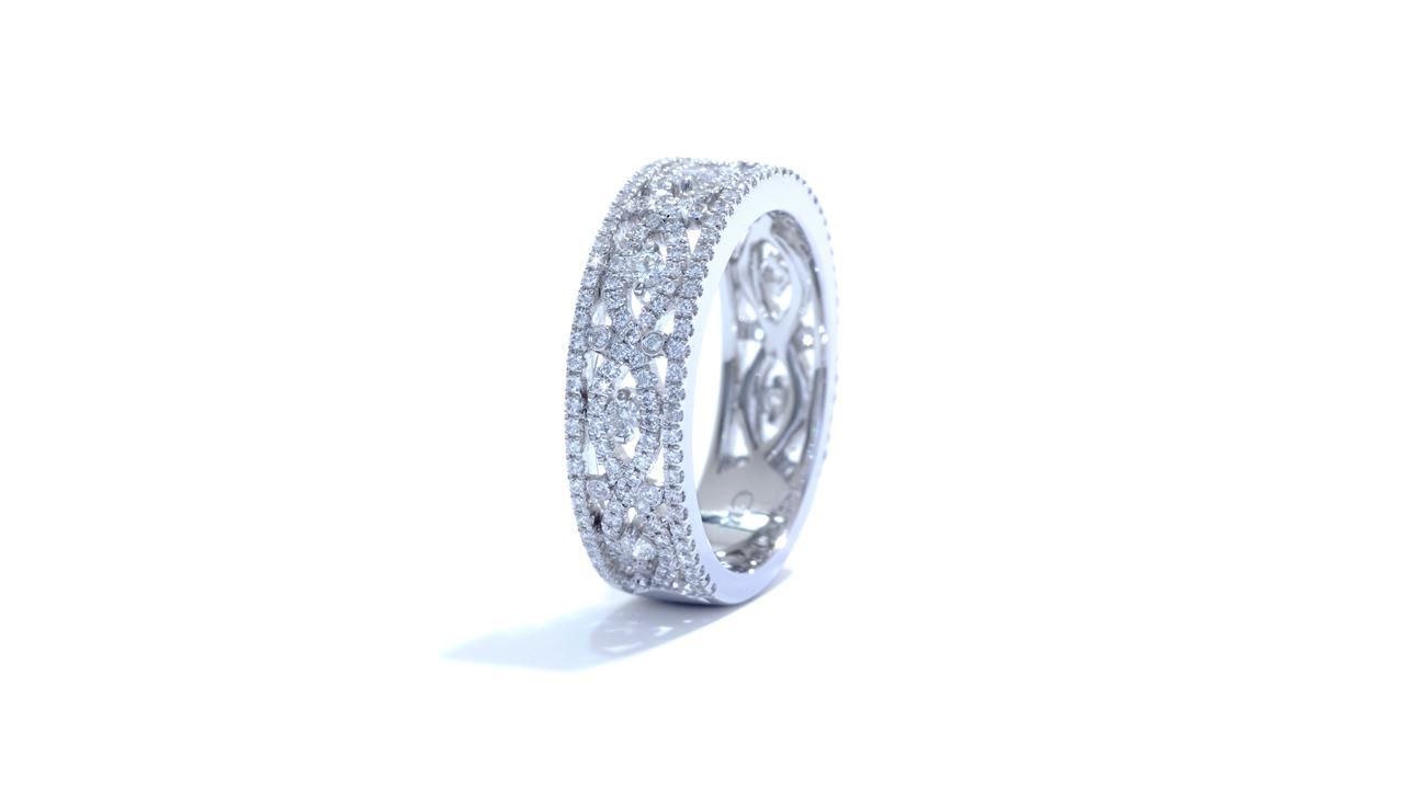 ja5697 - Anniversary Diamond Ring 0.69 ct. tw. (in 18k white gold) at Ascot Diamonds