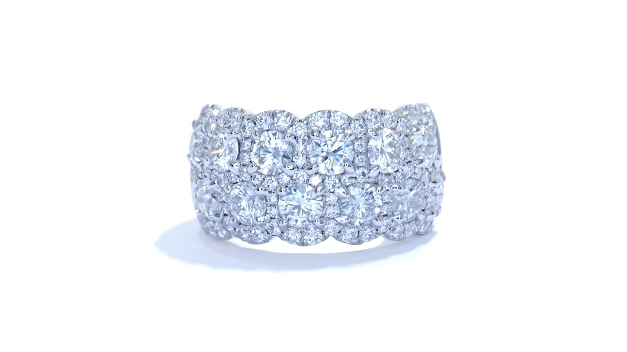 ja5698 - Ladies Anniversary Diamond Ring 3.38 ct. tw. (in 18k white gold) at Ascot Diamonds