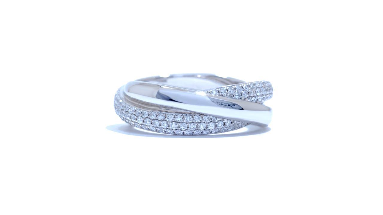ja5798 - Infinity Diamond Ring 0.73 ct. tw. (in 18k white gold)   at Ascot Diamonds