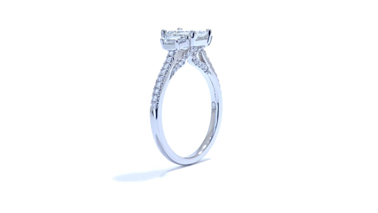 ja6149_d5401 - Three Stone Emerald Cut Diamond Ring at Ascot Diamonds