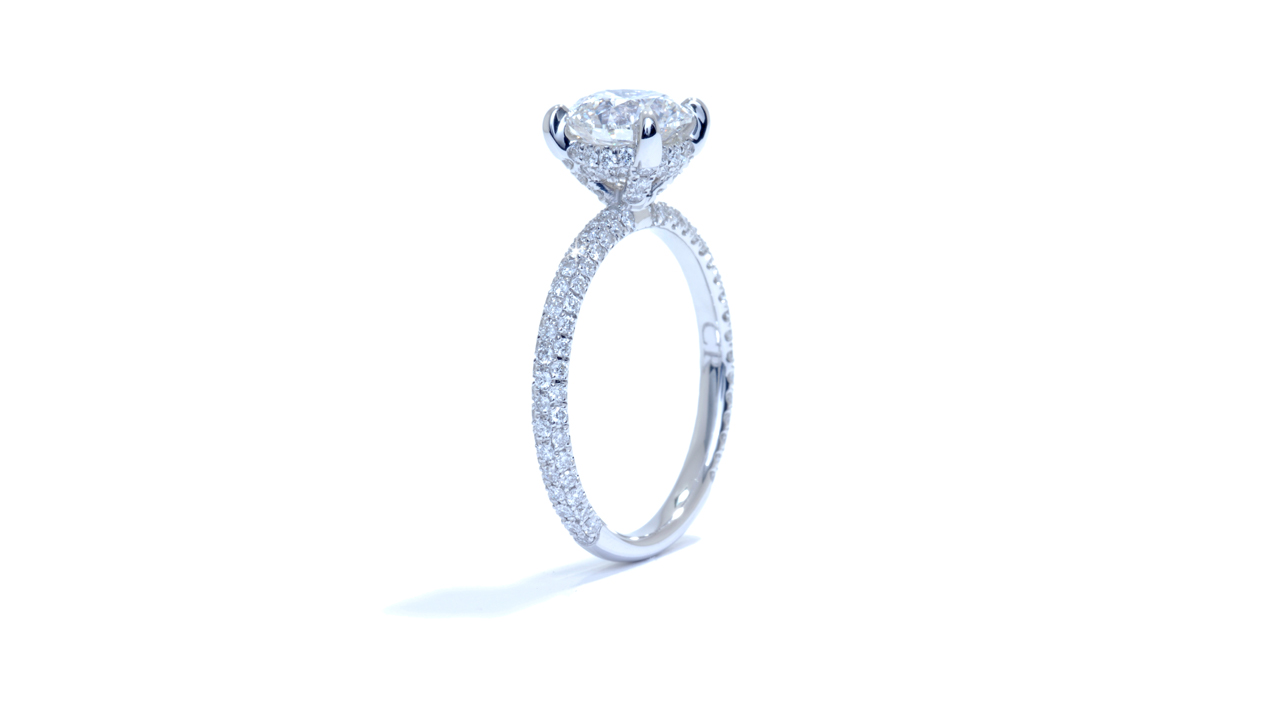 ja6319_d5237 - Custom Diamond Engagement Ring at Ascot Diamonds