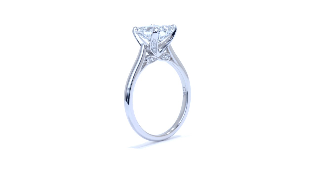 ja6965_lgd1083 - 2ct Lab Created Diamond Ring at Ascot Diamonds