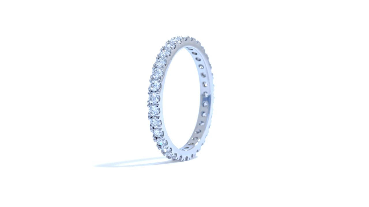 ja6993 - Eternity Diamond Wedding Ring 0.73 ct. tw. (in 18k white) at Ascot Diamonds