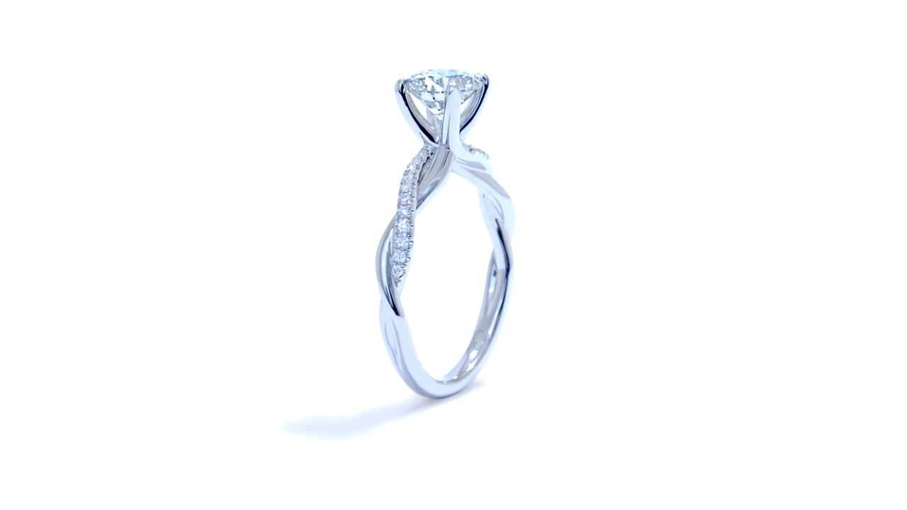 ja7063_d5941 - 1ct. Braided Diamond Engagement Ring at Ascot Diamonds