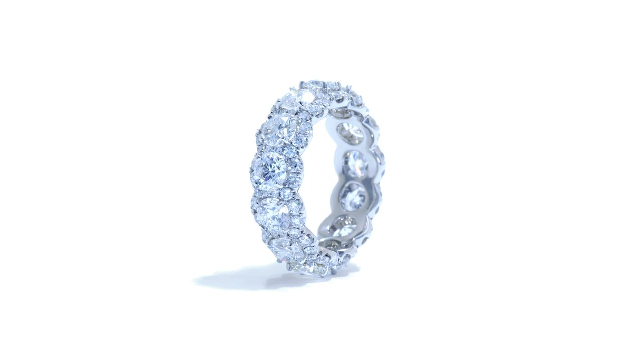 ja7071 - Custom Diamond Anniversary Band at Ascot Diamonds