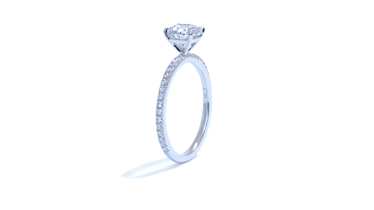 ja7075_d5449 - 0.90 ct. Round Diamond Engagement Ring at Ascot Diamonds