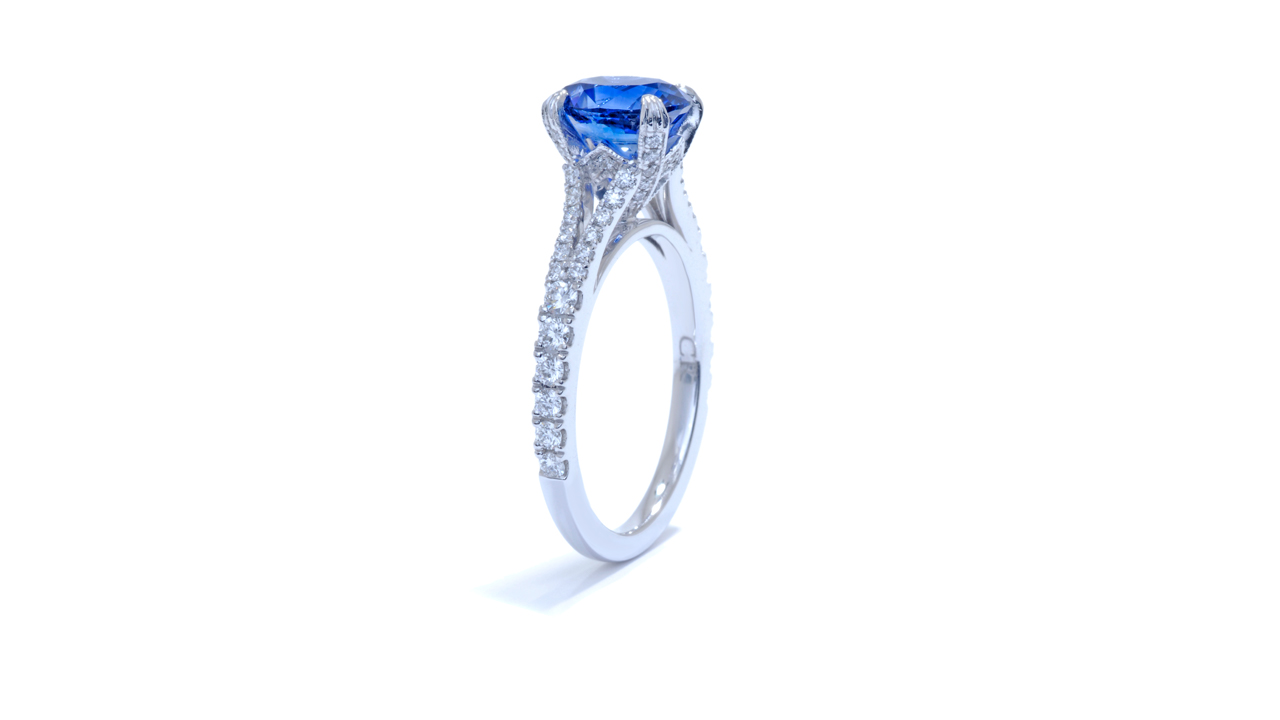 ja7081_bsapov-1 - Split Diamond Band Engagement Ring at Ascot Diamonds