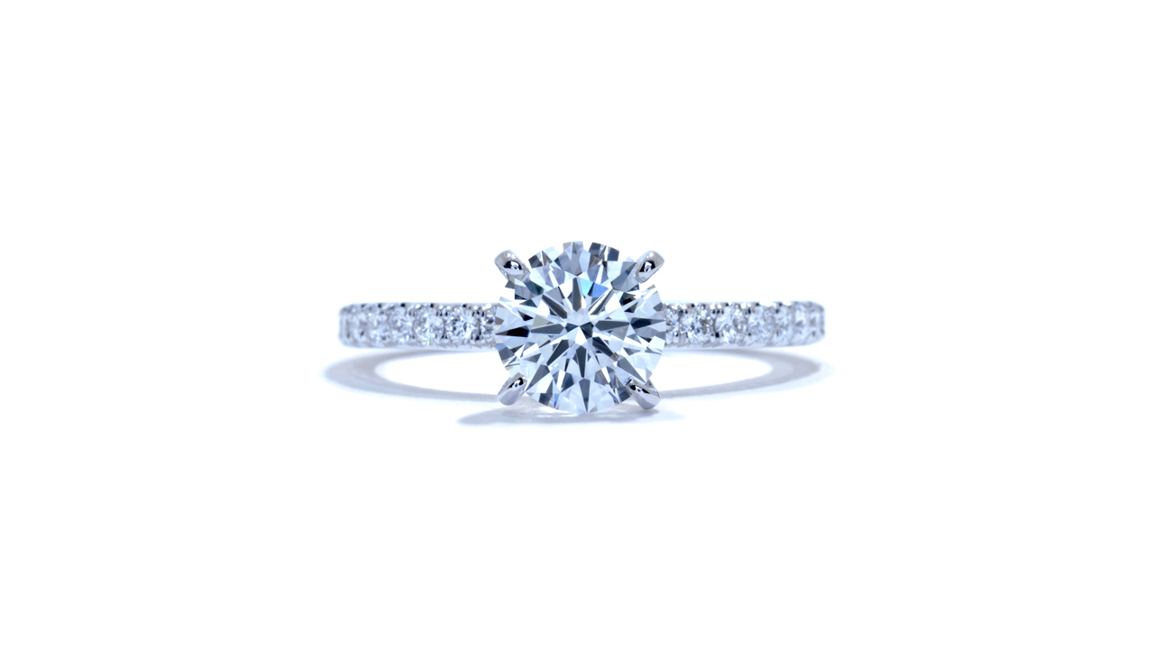 ja7202_d6076 - Delicate Solitaire Diamond Engagement Ring at Ascot Diamonds