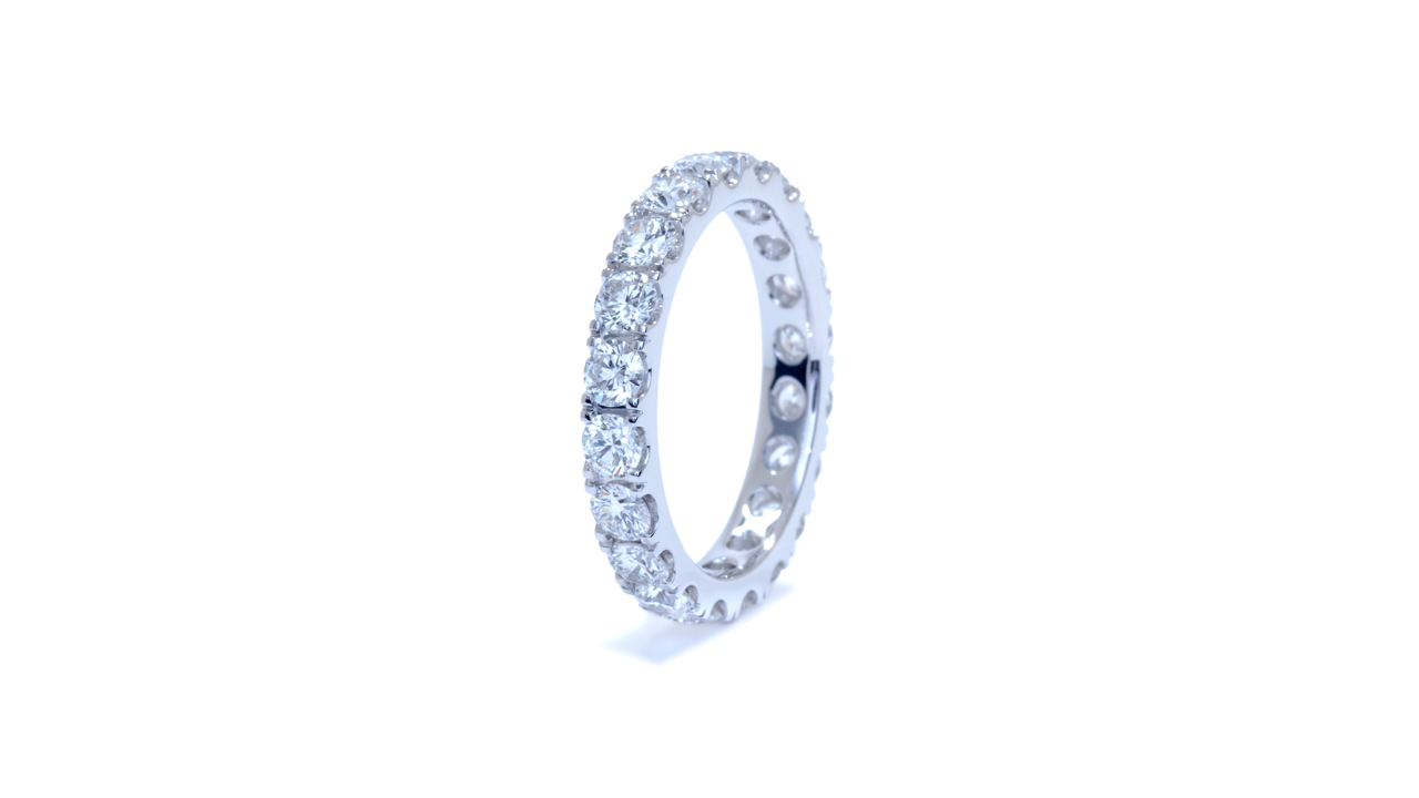 ja7546 - Platinum 2ct Eternity Band at Ascot Diamonds