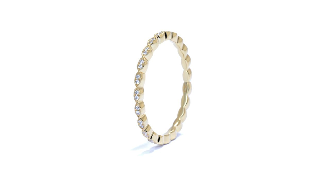 ja7928 - Petite Diamond Eternity Wedding Ring at Ascot Diamonds