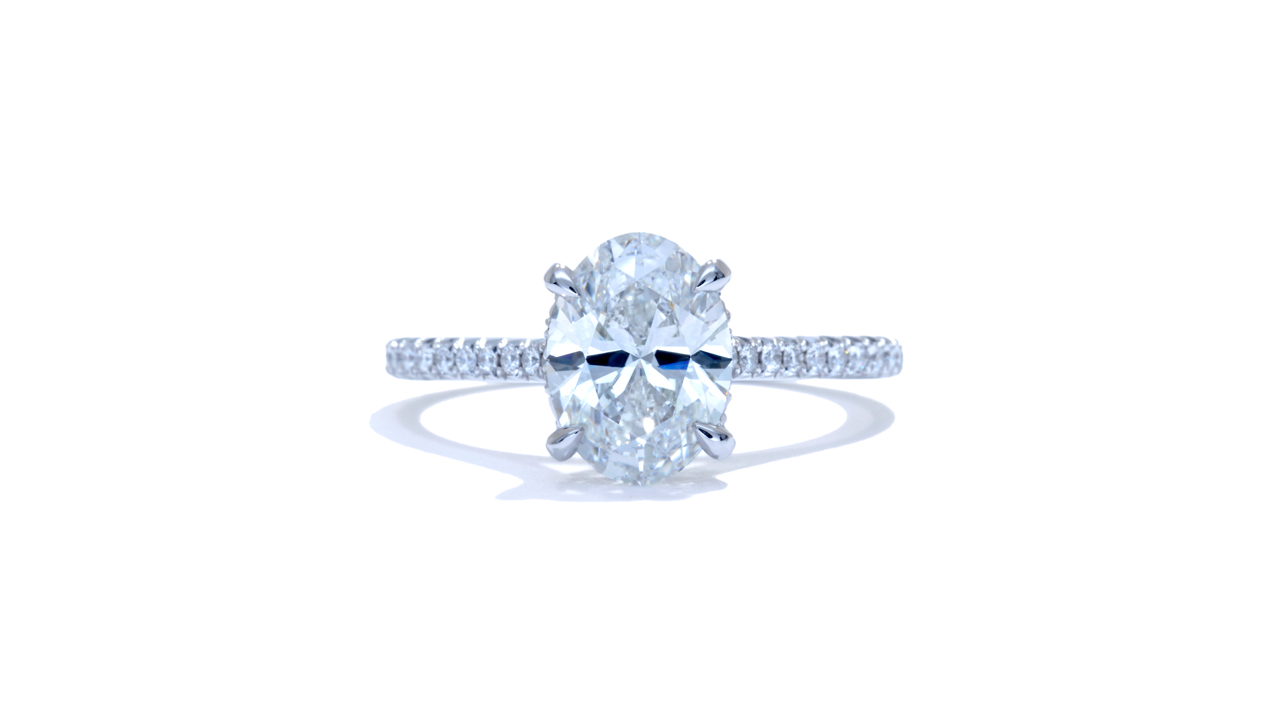 ja8005_d6479 - 1.7ct Oval Diamond Solitaire Engagement Ring at Ascot Diamonds