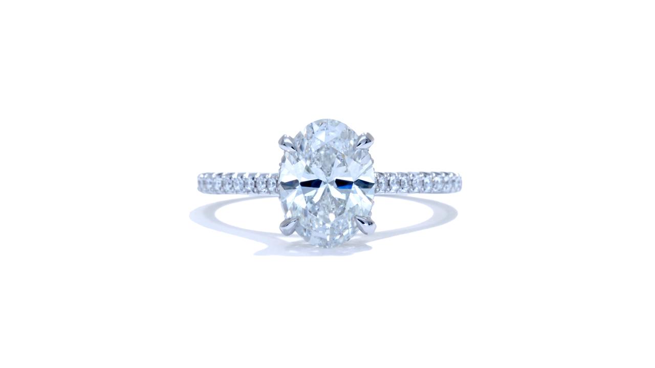 ja8005_lgd1711 - 2.6ct Oval Diamond Solitaire Engagement Ring at Ascot Diamonds