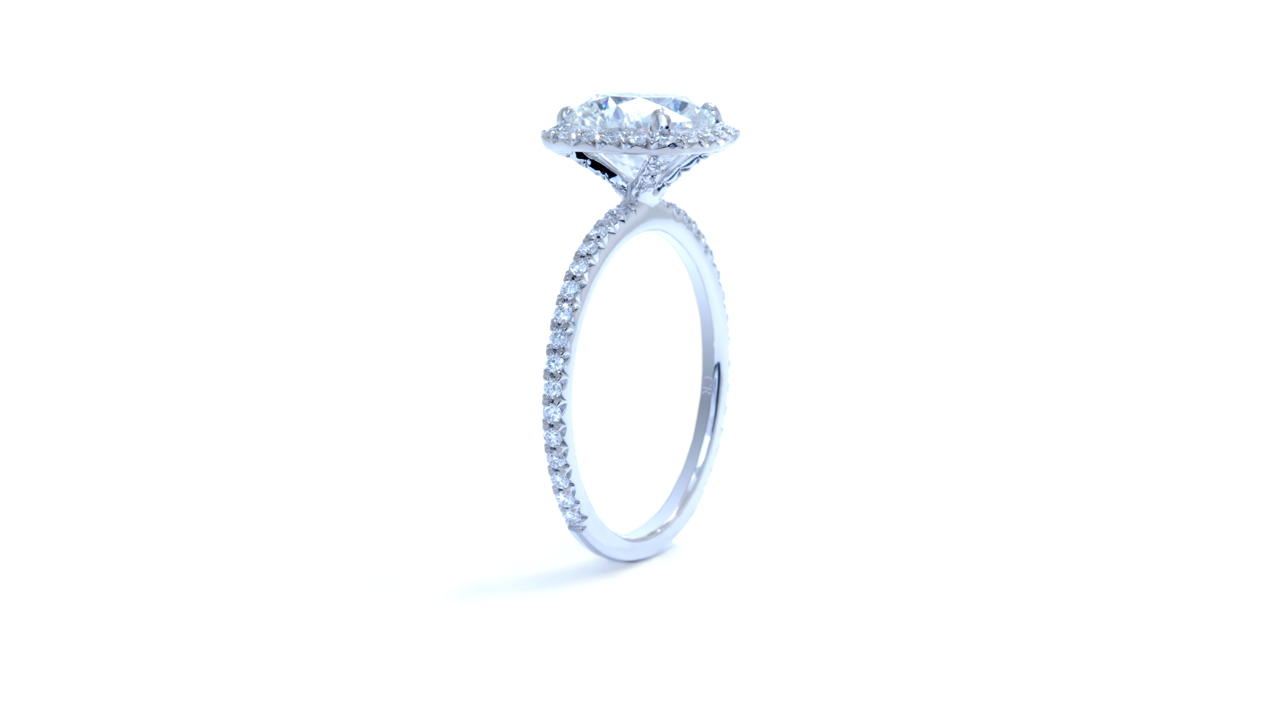 ja8088_d5720 - 2.4 Carat Diamond | Cushion Shaped Halo at Ascot Diamonds