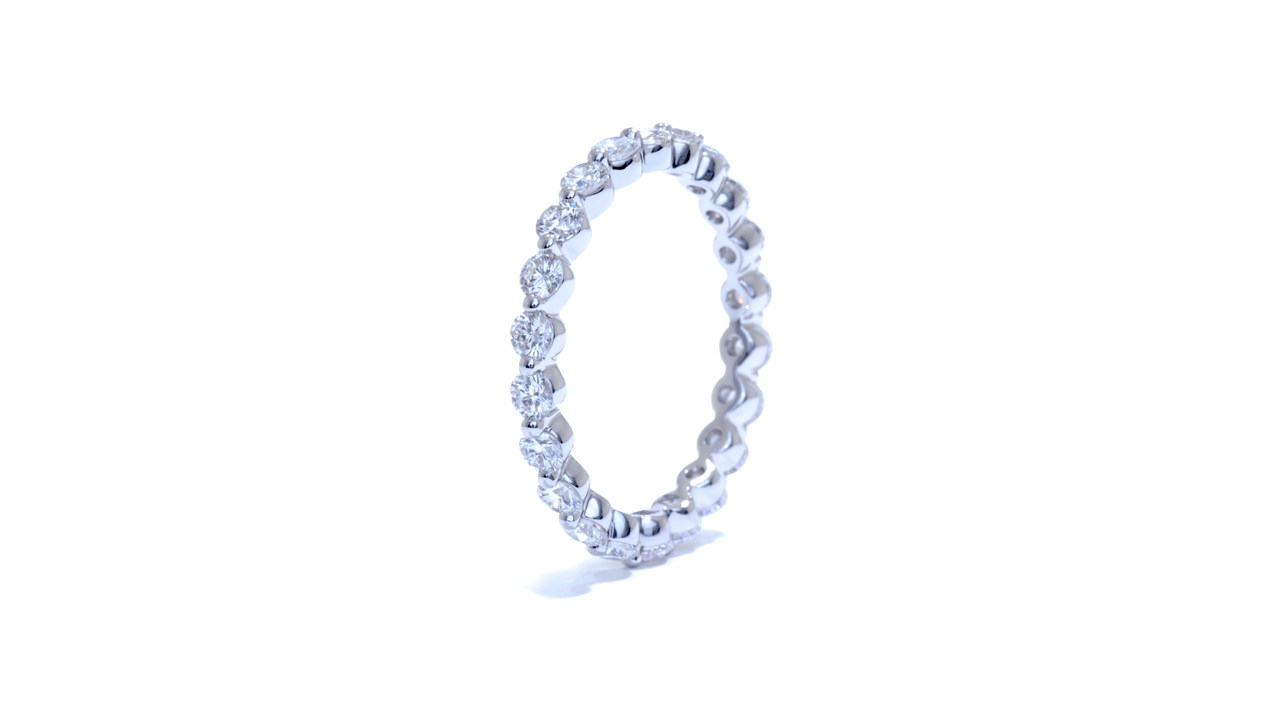 ja8237 - Floating Diamond Ring at Ascot Diamonds