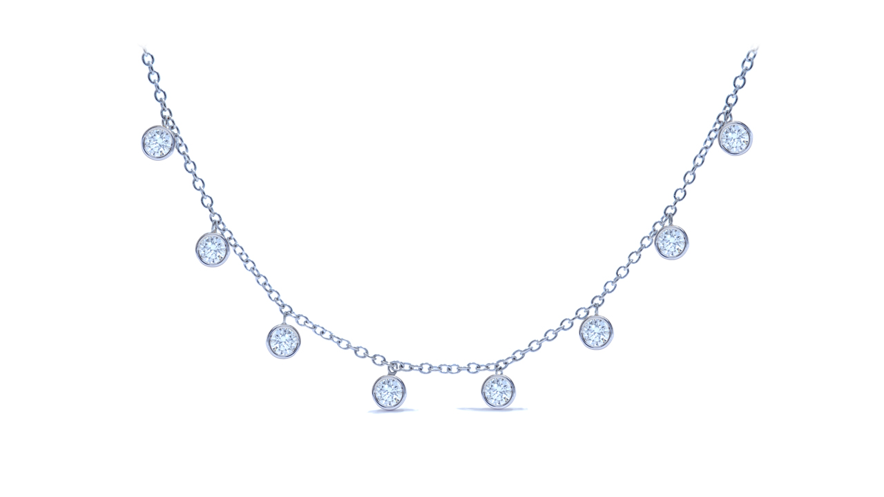ja8251 - Diamonds by the Yard Necklace 1.72 ct. tw. (in 18k white gold) at Ascot Diamonds