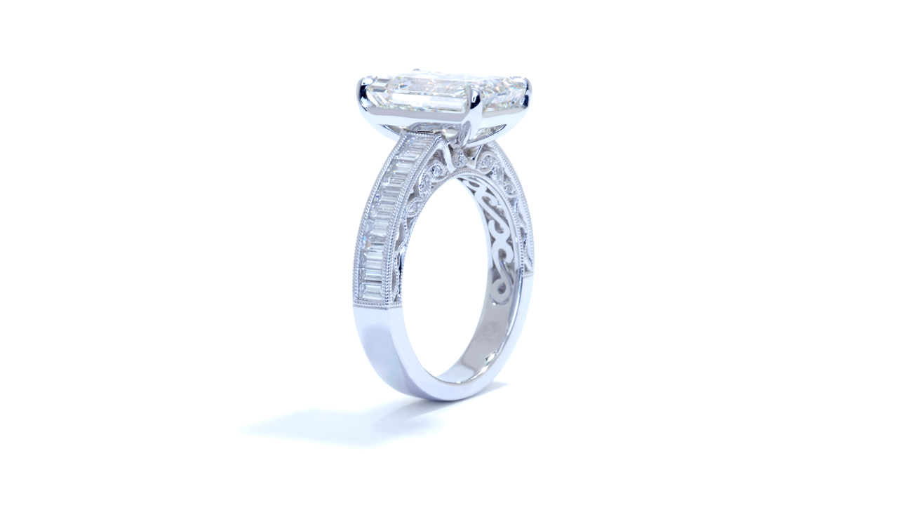 ja8281_lgd1790 - 4.5 ct. Art-deco Diamond Engagement Ring at Ascot Diamonds