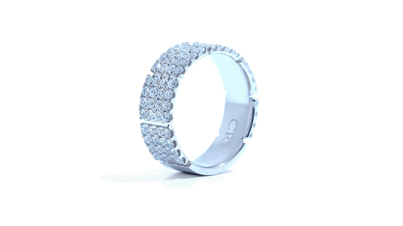 ja8308 - Wide Anniversary Diamond Band 1.73 ct. tw. (in 18k white)   at Ascot Diamonds