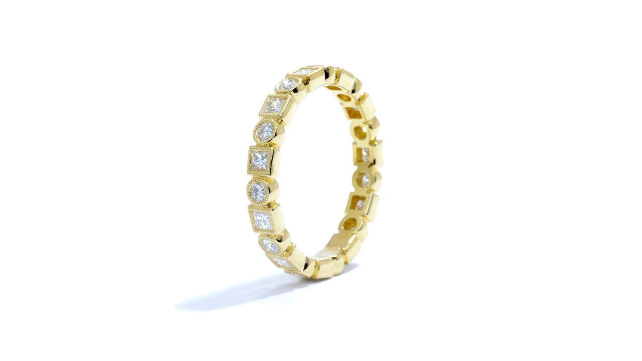 ja8360 - Stacking Diamond Wedding Band 0.77 ct. tw. (in 18k yellow gold) at Ascot Diamonds