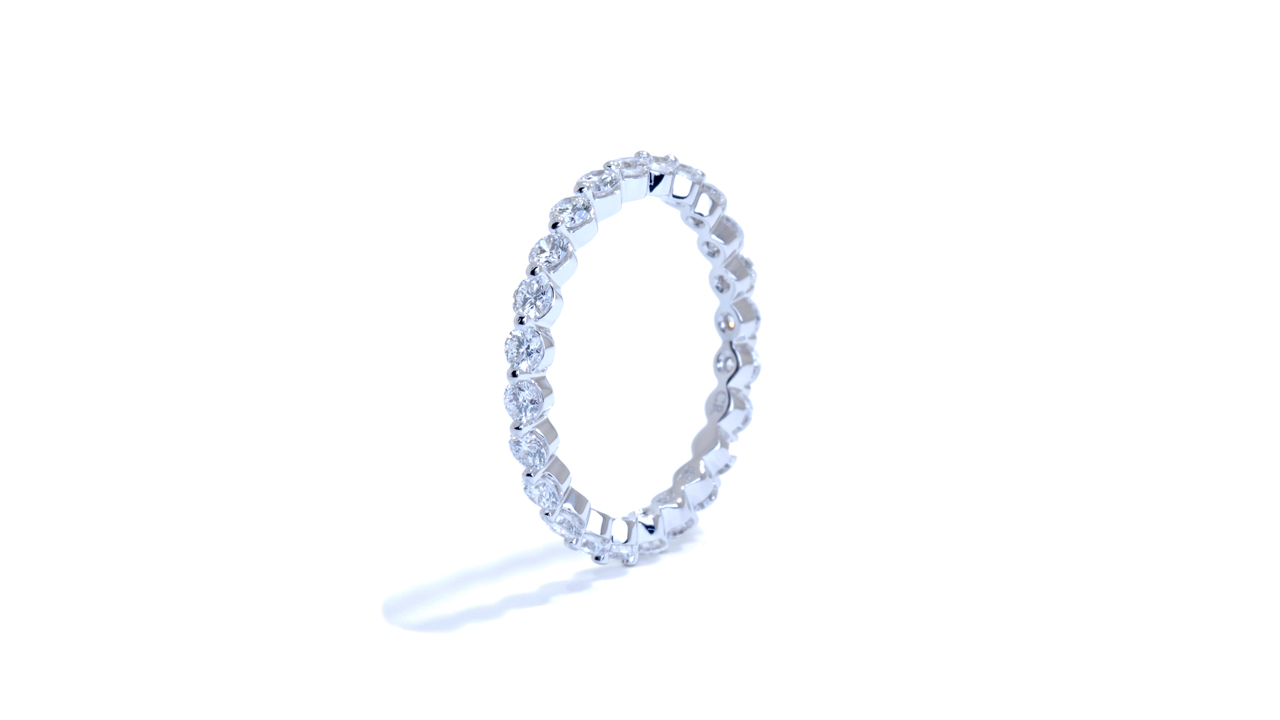 ja8364 - 1.04ct. Bubble Wedding Ring at Ascot Diamonds